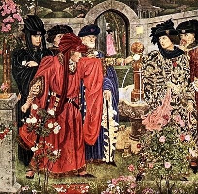 роза в войнах средневековья